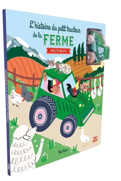 L´HISTOIRE DU PETIT TRACTEUR DE LA FERME - AVEC 4 CIRCUITS