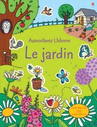 JARDIN - AUTOCOLLANTS USBORNE