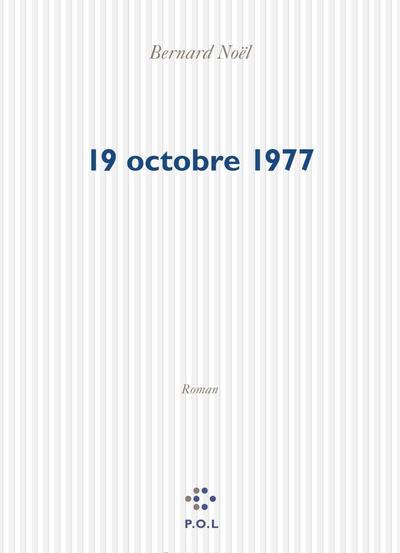 19 OCTOBRE 1977