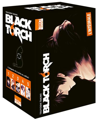 COFFRET BLACK TORCH - L´INTEGRALE EN 5 TOMES