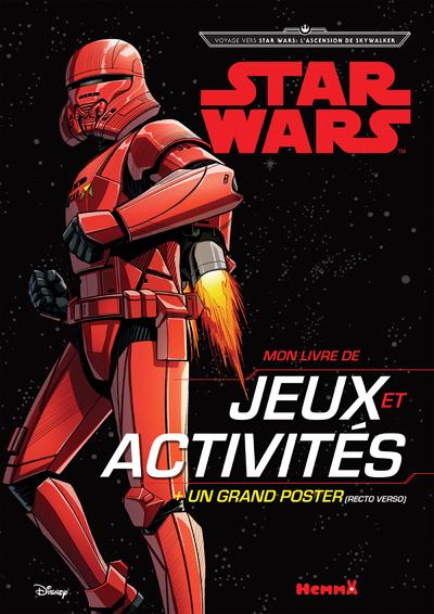 DISNEY STAR WARS VOYAGE VERS SW : L´ASCENSION DE SKYWALKER - MON LIVRE DE JEUX ET ACTIVITES + UN GRA