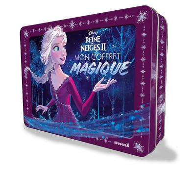 DISNEY LA REINE DES NEIGES 2 - MON COFFRET MAGIQUE (ELSA ROBE MAUVE)