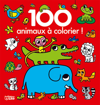 100 ANIMAUX A COLORIER
