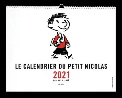 PETIT NICOLAS - CALENDRIER MURAL 2021