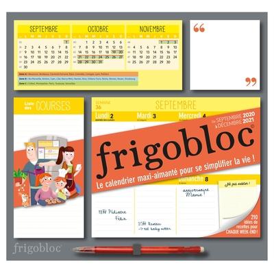 FRIGOBLOC 2021 HEBDOMADAIRE - CALENDRIER D´ORGANISATION FAMILIALE / SEMAINE