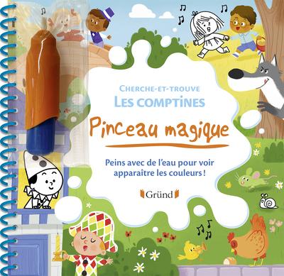 PINCEAU MAGIQUE - CHERCHE-ET-TROUVE - LES COMPTINES