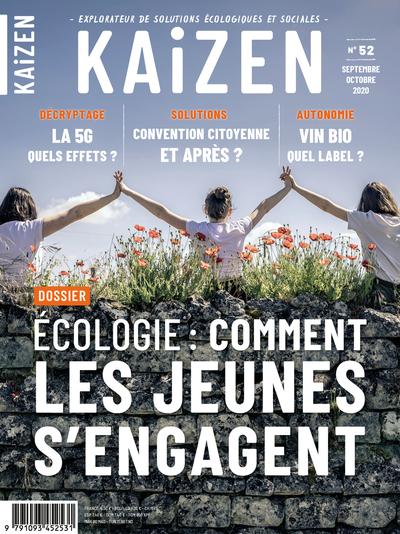 KAIZEN 52 : ECOLOGIE COMMENT LES JEUNES S ENGAGENT - SEPTEMBRE OCTOBRE 2020