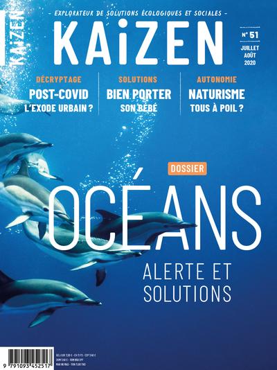 KAIZEN 51 : OCEANS ALERTE ET SOLUTIONS - JUILLET AOUT 2020