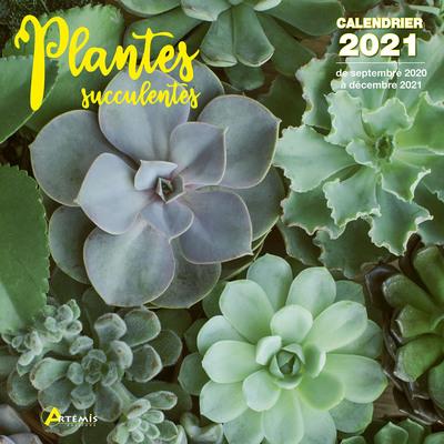 CALENDRIER PLANTES SUCCULENTES 2021