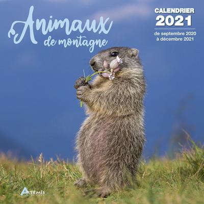 CALENDRIER ANIMAUX DE MONTAGNE 2021