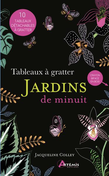 TABLEAUX A GRATTER JARDINS DE MINUIT