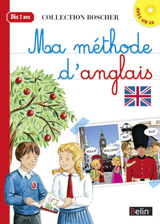 BOSCHER MA METHODE D´ANGLAIS + CD