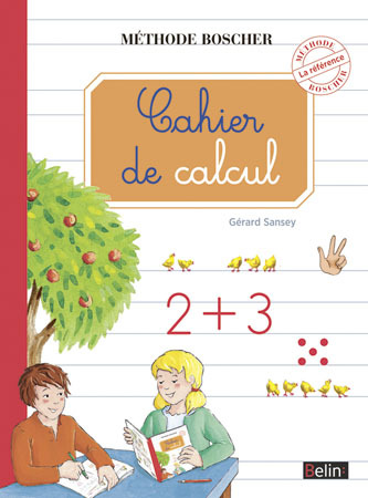 CAHIER DE CALCUL (NE) METHODE BOSCHER