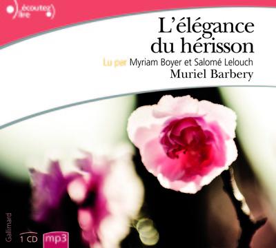 ELEGANCE DU HERISSON CD