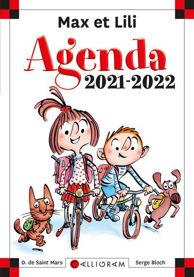 AGENDA SCOLAIRE MAX ET LILI 2021-2022