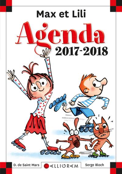AGENDA SCOLAIRE MAX ET LILI 2017 2018