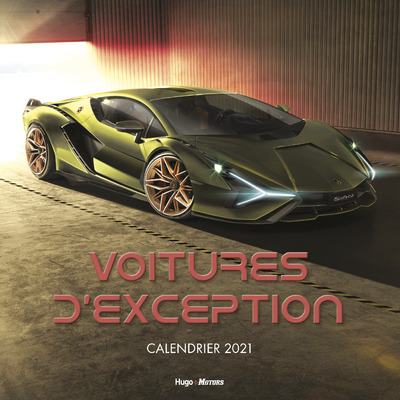 CALENDRIER MURAL VOITURES D´EXCEPTION 2021