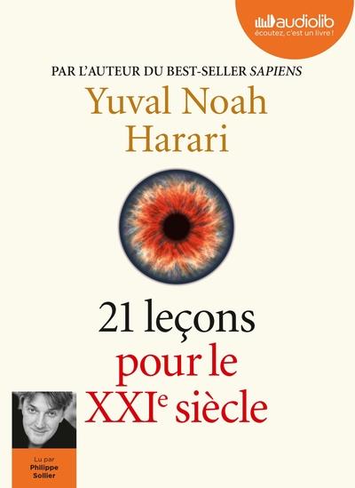21 LECONS POUR LE XXIE SIECLE - LIVRE AUDIO 2 CD MP3