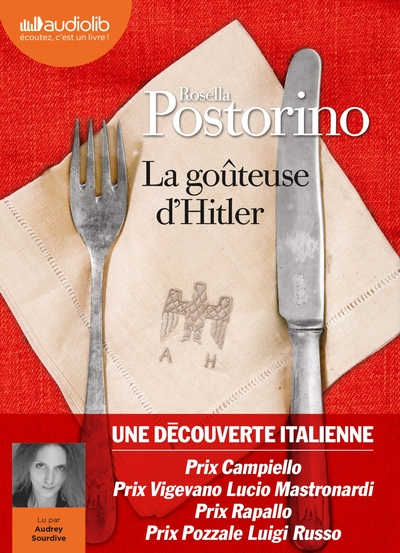 GOUTEUSE D´HITLER - LIVRE AUDIO 1 CD MP3