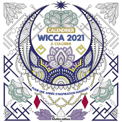 CALENDRIER WICCA 2021 A COLORIER