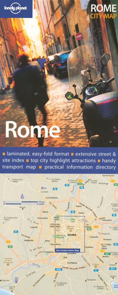 ROME CITY MAP 1ED -ANGLAIS-