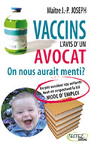 VACCINS L'AVIS D'UN AVOCAT