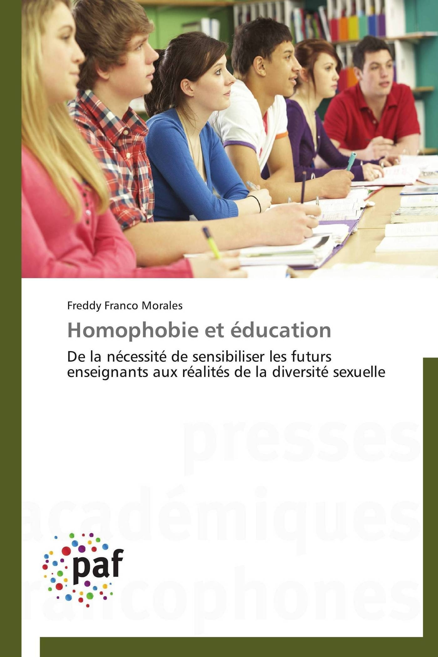 HOMOPHOBIE ET EDUCATION