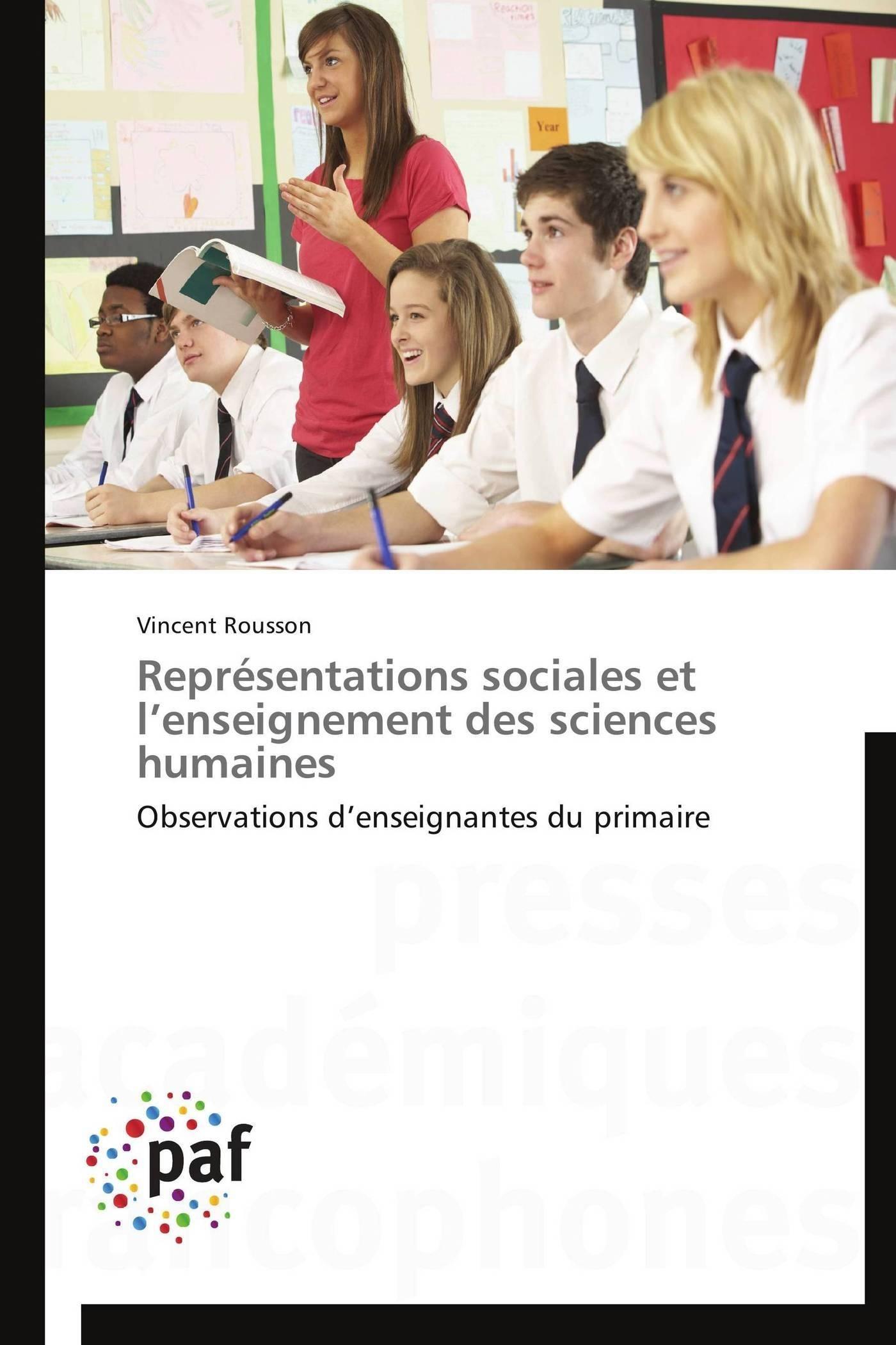 REPRESENTATIONS SOCIALES ET L ENSEIGNEMENT DES SCIENCES HUMAINES