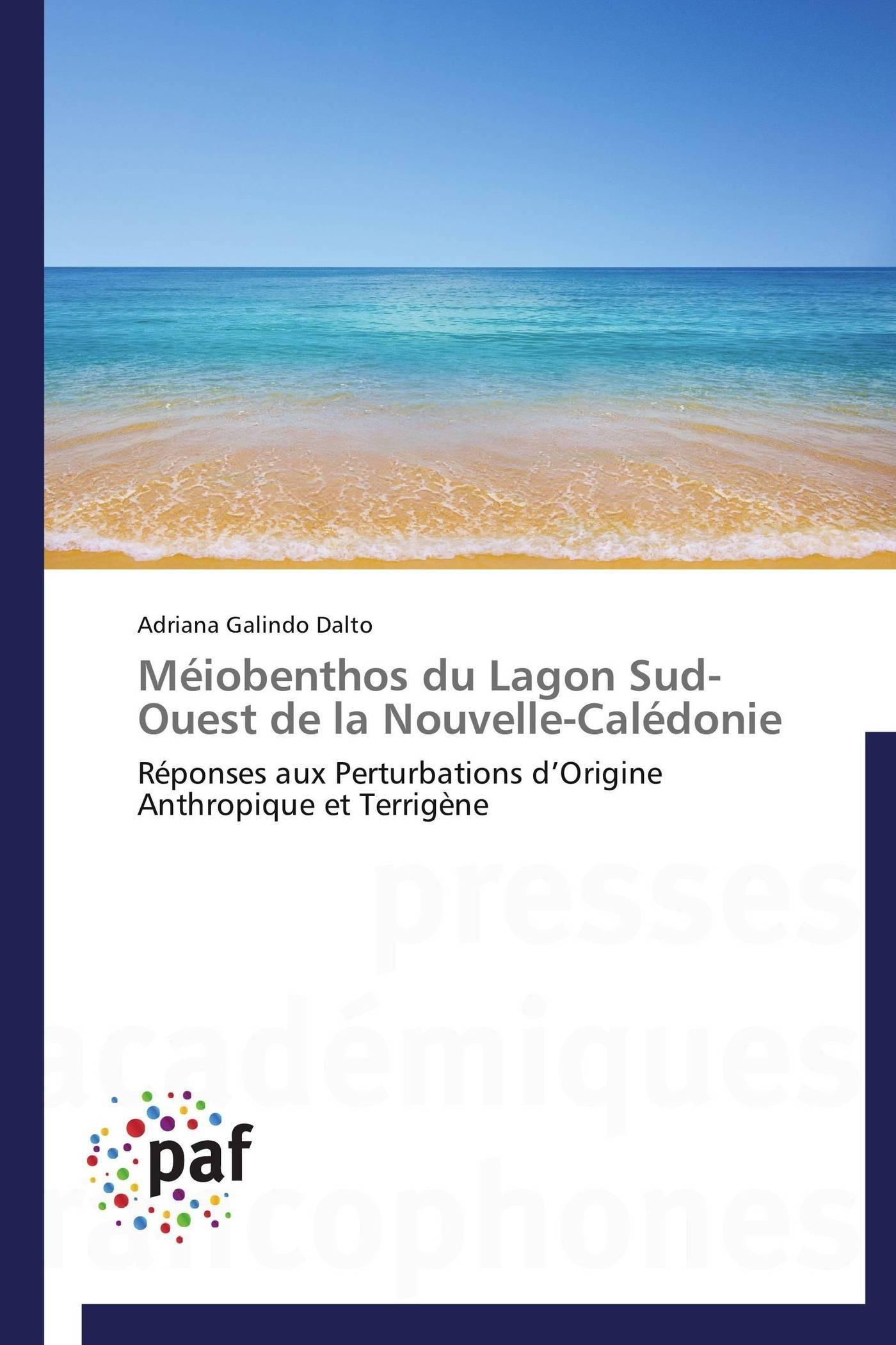 MEIOBENTHOS DU LAGON SUD-OUEST DE LA NOUVELLE-CALEDONIE