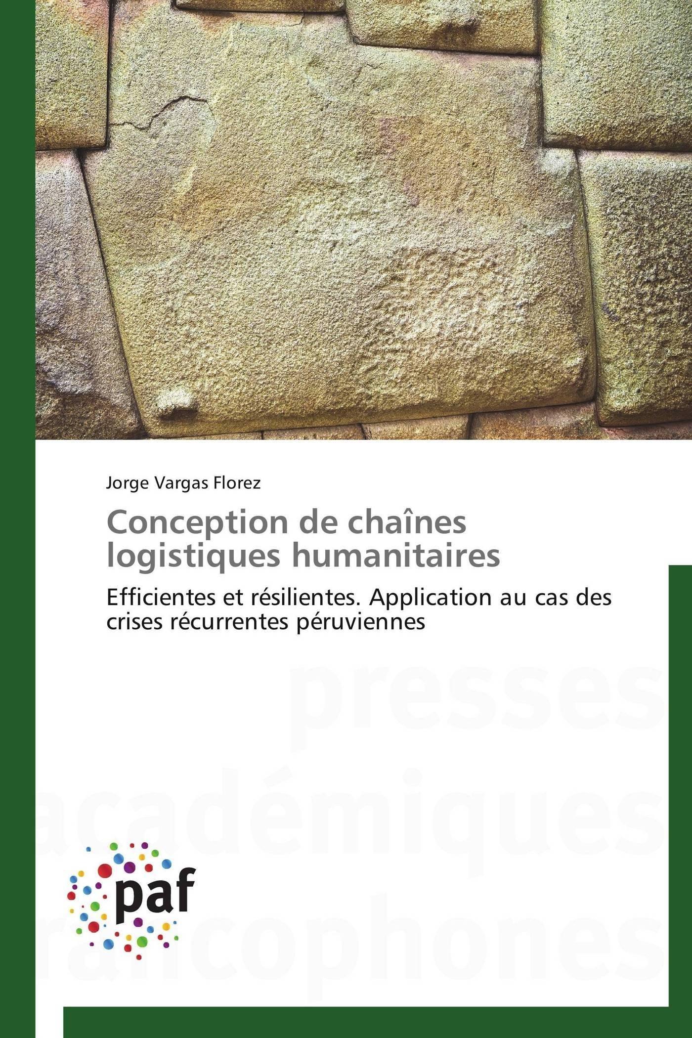 CONCEPTION DE CHAINES LOGISTIQUES HUMANITAIRES