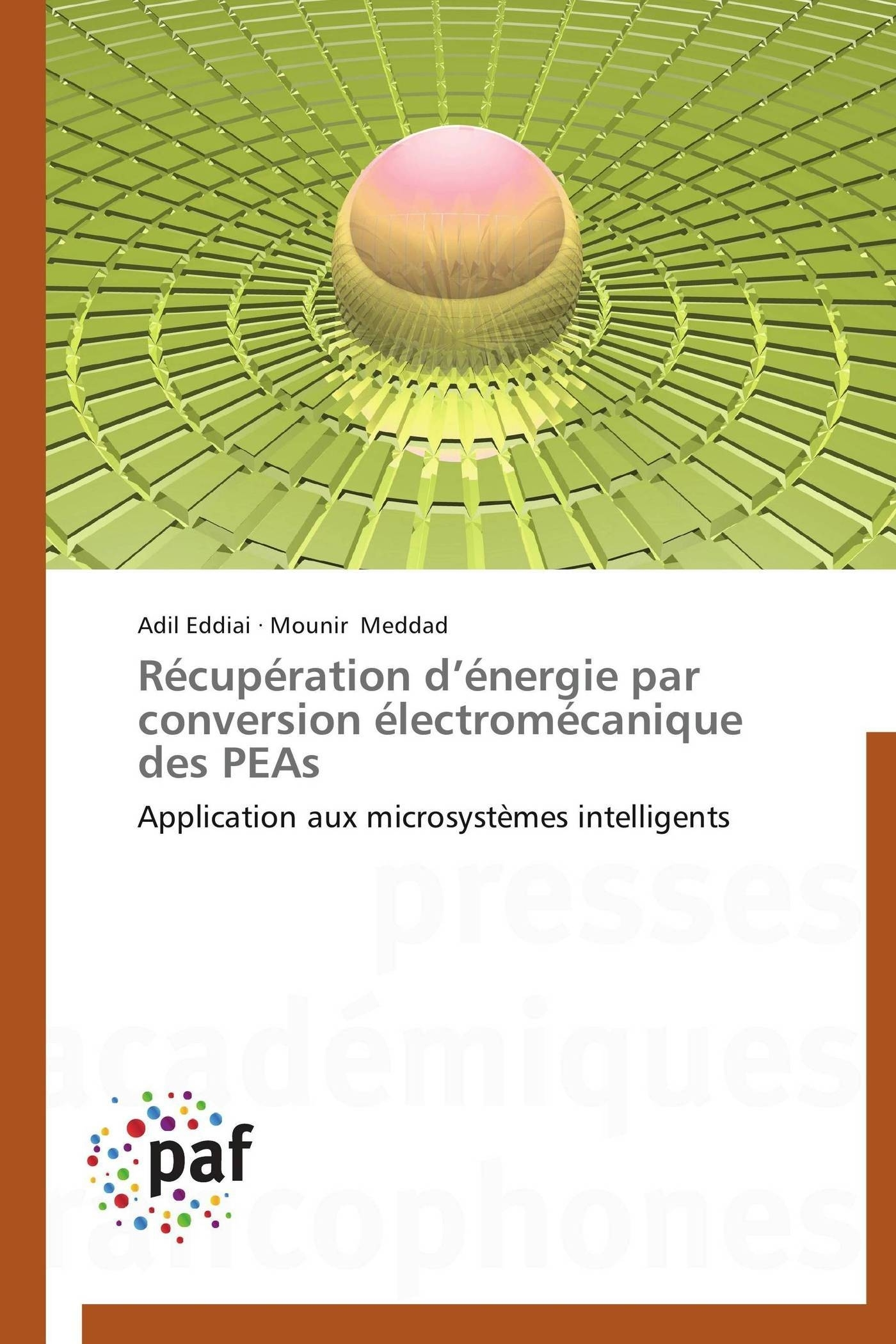 RECUPERATION D ENERGIE PAR CONVERSION ELECTROMECANIQUE DES PEAS