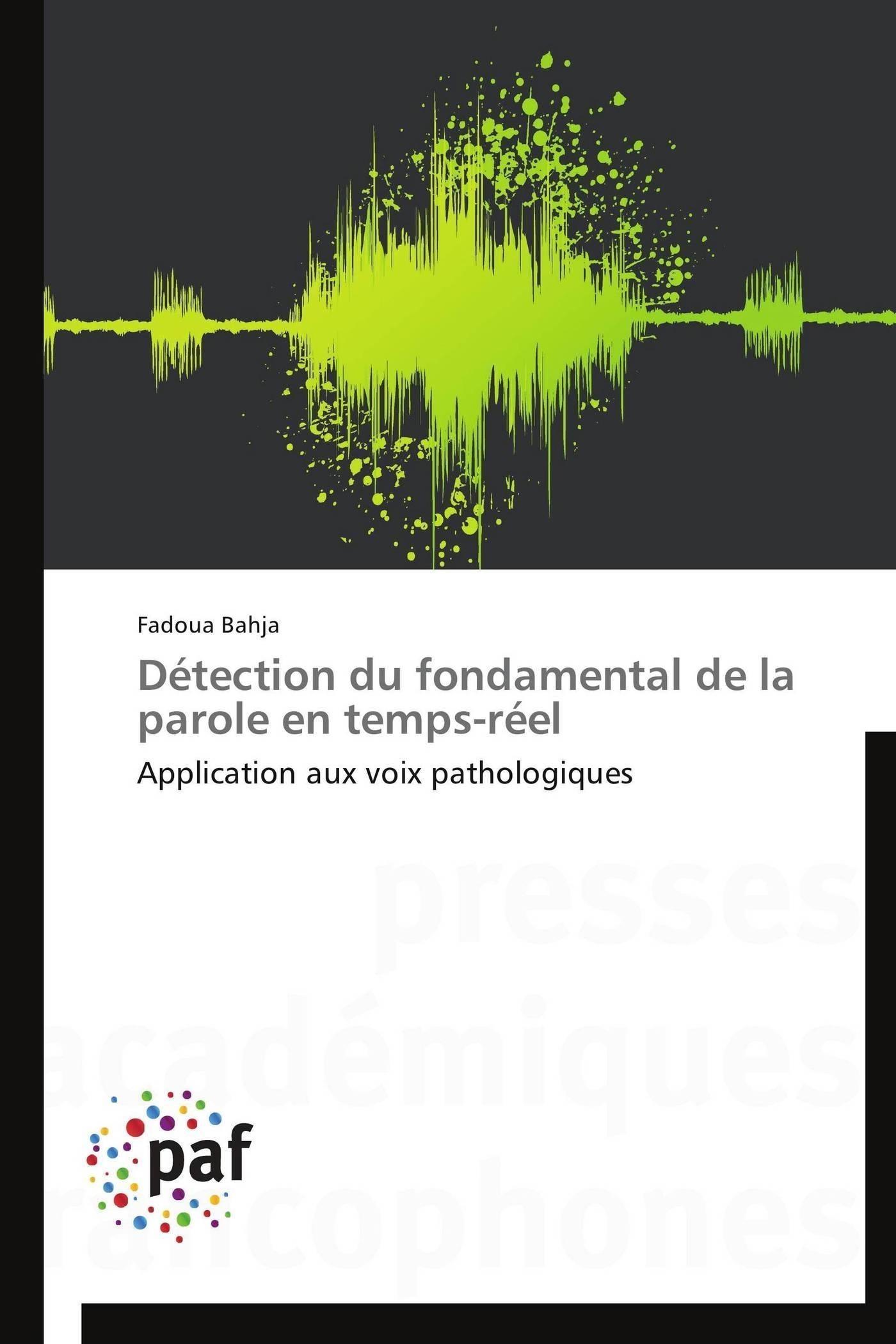 DETECTION DU FONDAMENTAL DE LA PAROLE EN TEMPS-REEL