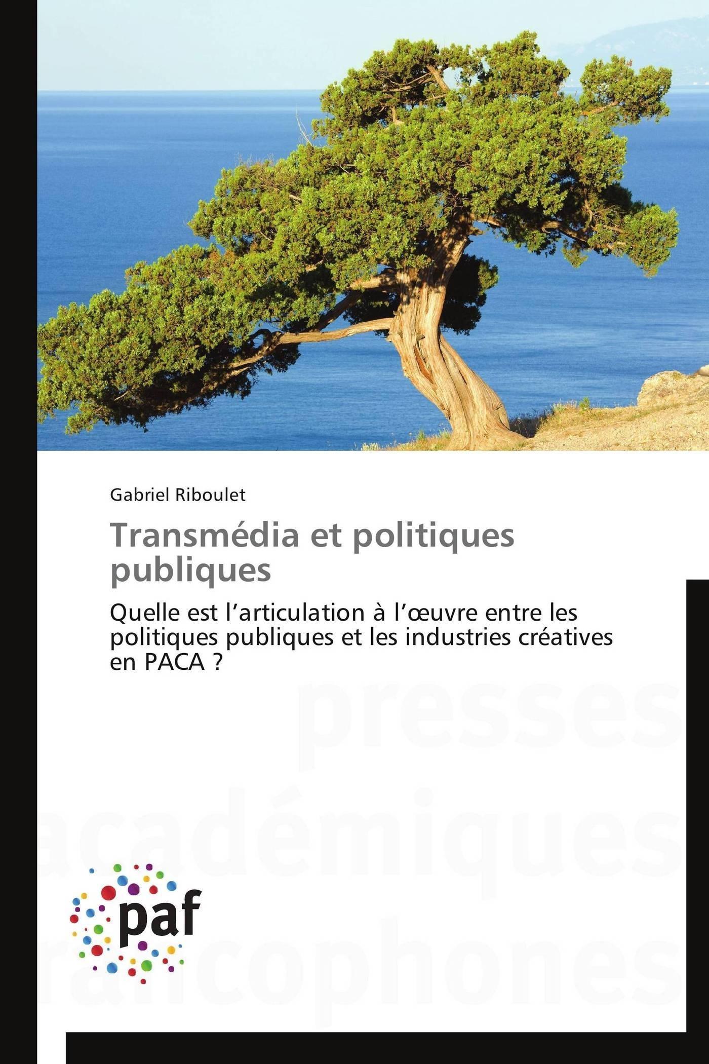 TRANSMEDIA ET POLITIQUES PUBLIQUES
