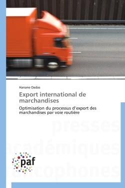 EXPORT INTERNATIONAL DE MARCHANDISES