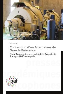 CONCEPTION D UN ALTERNATEUR DE GRANDE PUISSANCE
