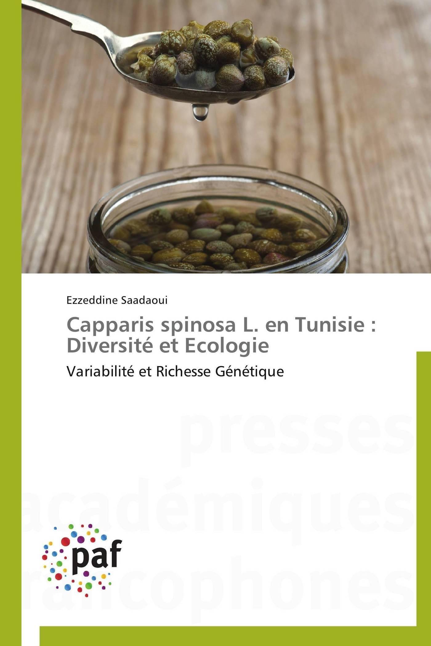 CAPPARIS SPINOSA L.  EN TUNISIE : DIVERSITE ET ECOLOGIE