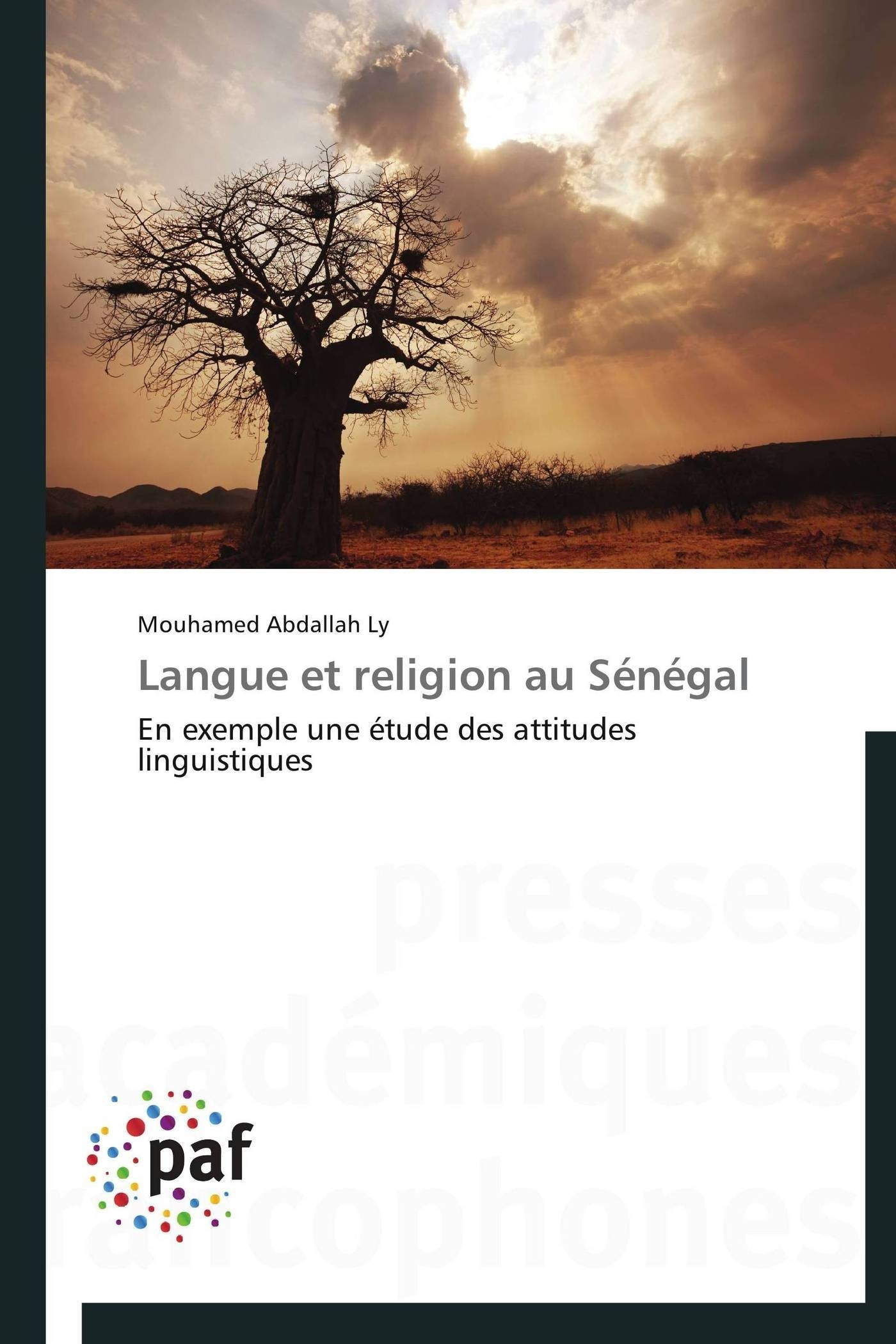 LANGUE ET RELIGION AU SENEGAL