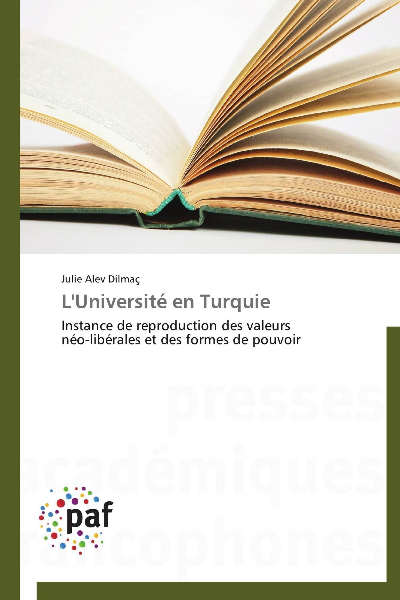 L'UNIVERSITE EN TURQUIE