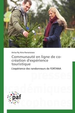 COMMUNAUTE EN LIGNE DE CO-CREATION D'EXPERIENCE TOURISTIQUE