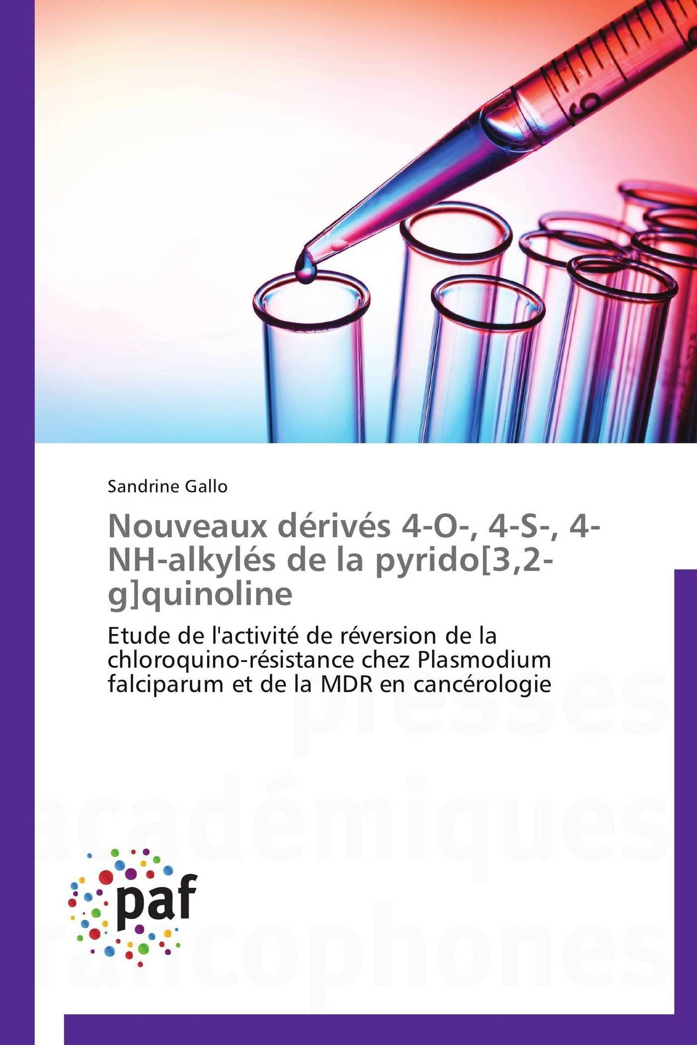 NOUVEAUX DERIVES 4-O-, 4-S-, 4-NH-ALKYLES DE LA PYRIDO[3,2-G]QUINOLINE