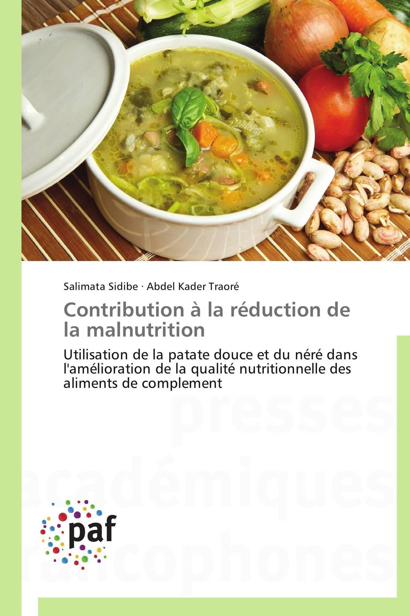 CONTRIBUTION A LA REDUCTION DE LA MALNUTRITION