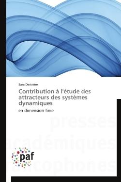 CONTRIBUTION A L'ETUDE DES ATTRACTEURS DES SYSTEMES DYNAMIQUES