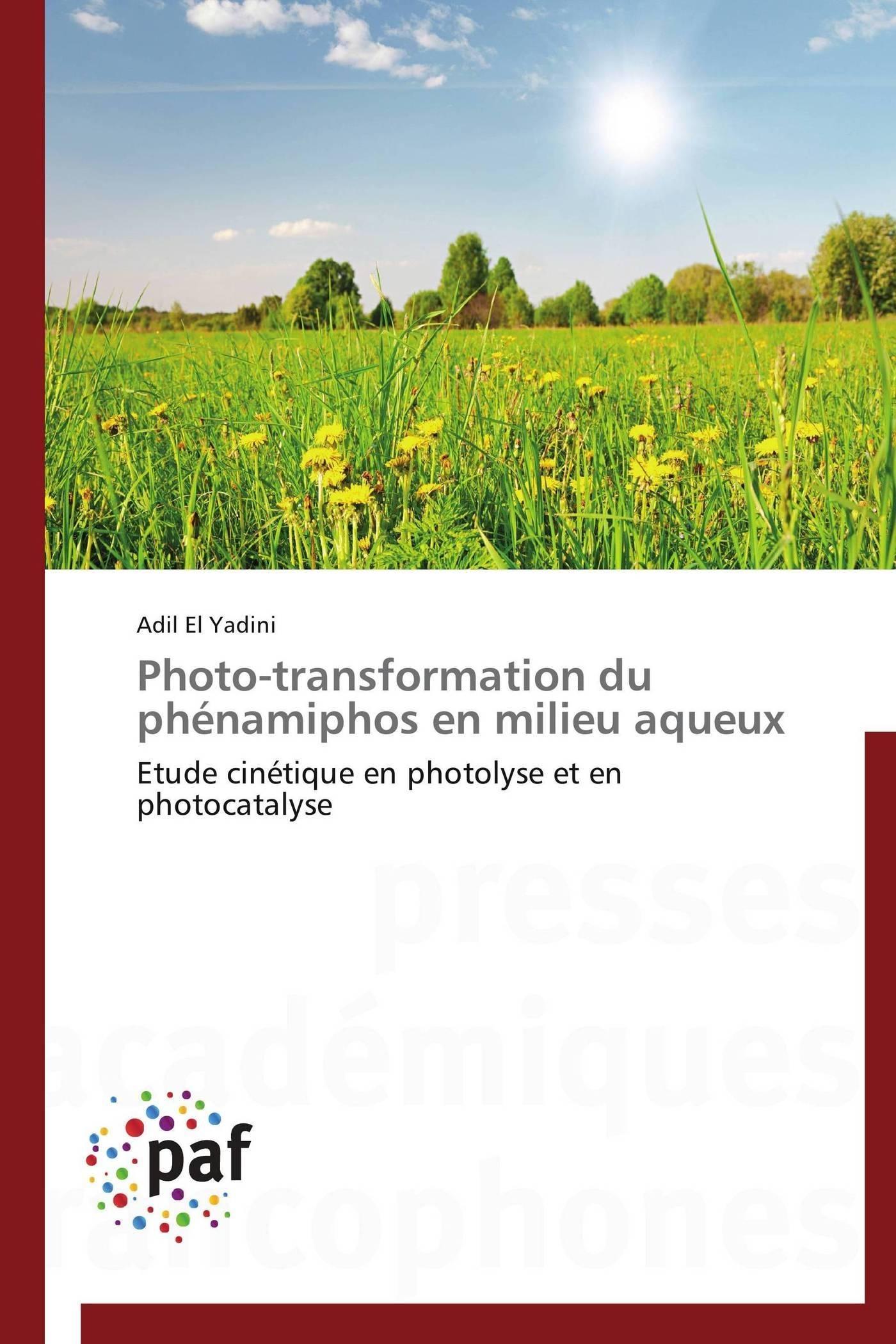 PHOTO-TRANSFORMATION DU PHENAMIPHOS EN MILIEU AQUEUX