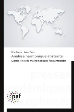 ANALYSE HARMONIQUE ABSTRAITE