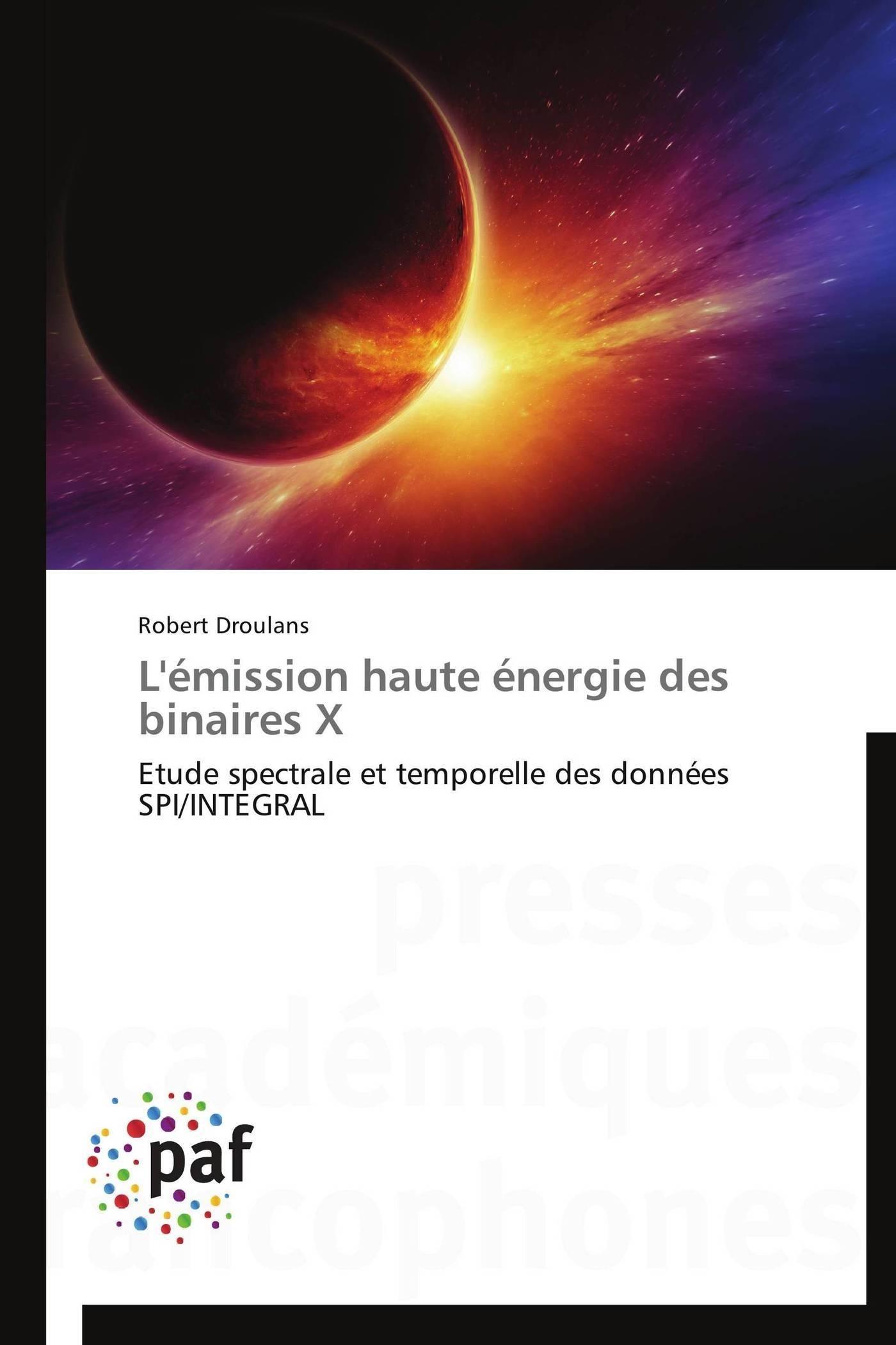 L'EMISSION HAUTE ENERGIE DES BINAIRES X