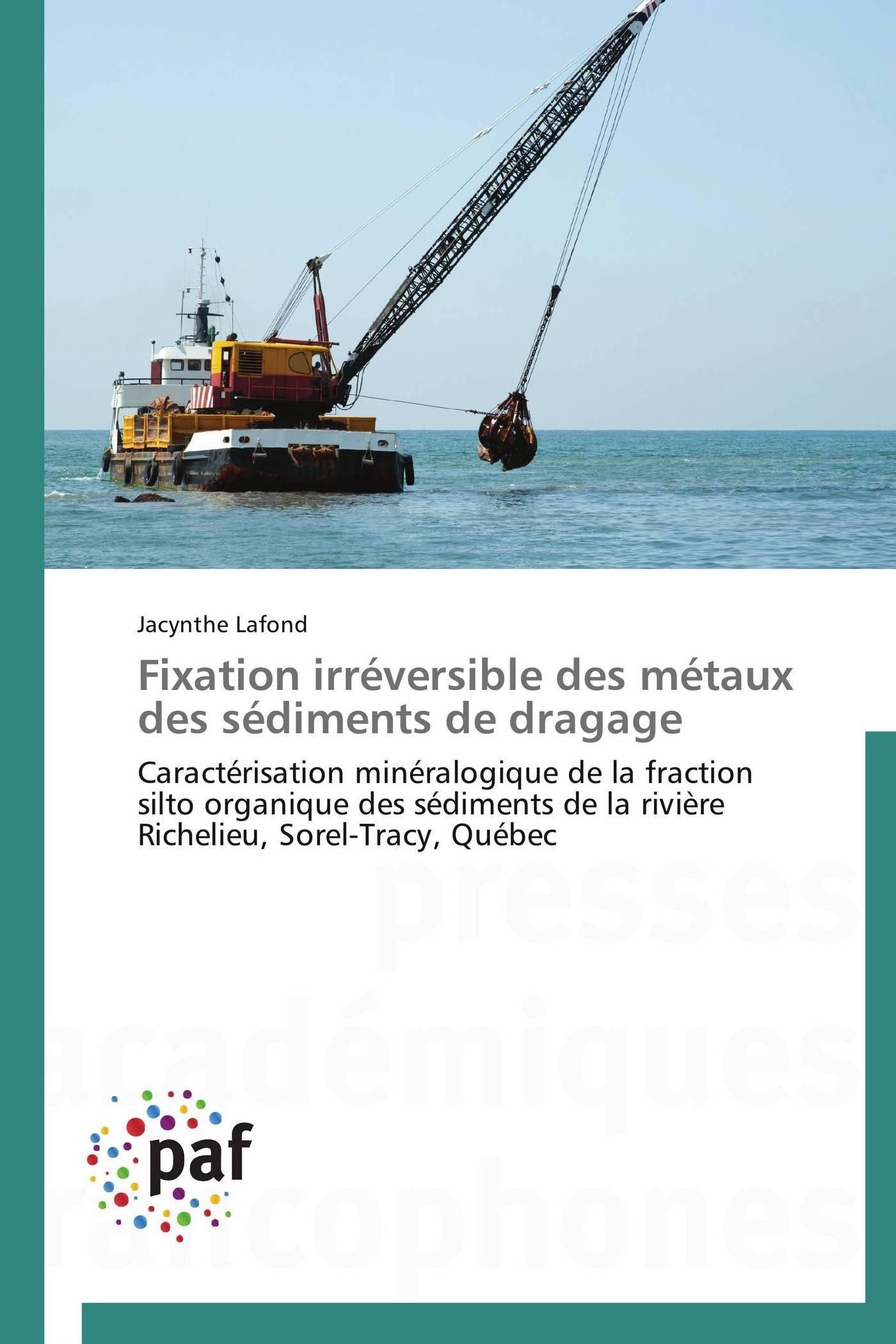 FIXATION IRREVERSIBLE DES METAUX DES SEDIMENTS DE DRAGAGE