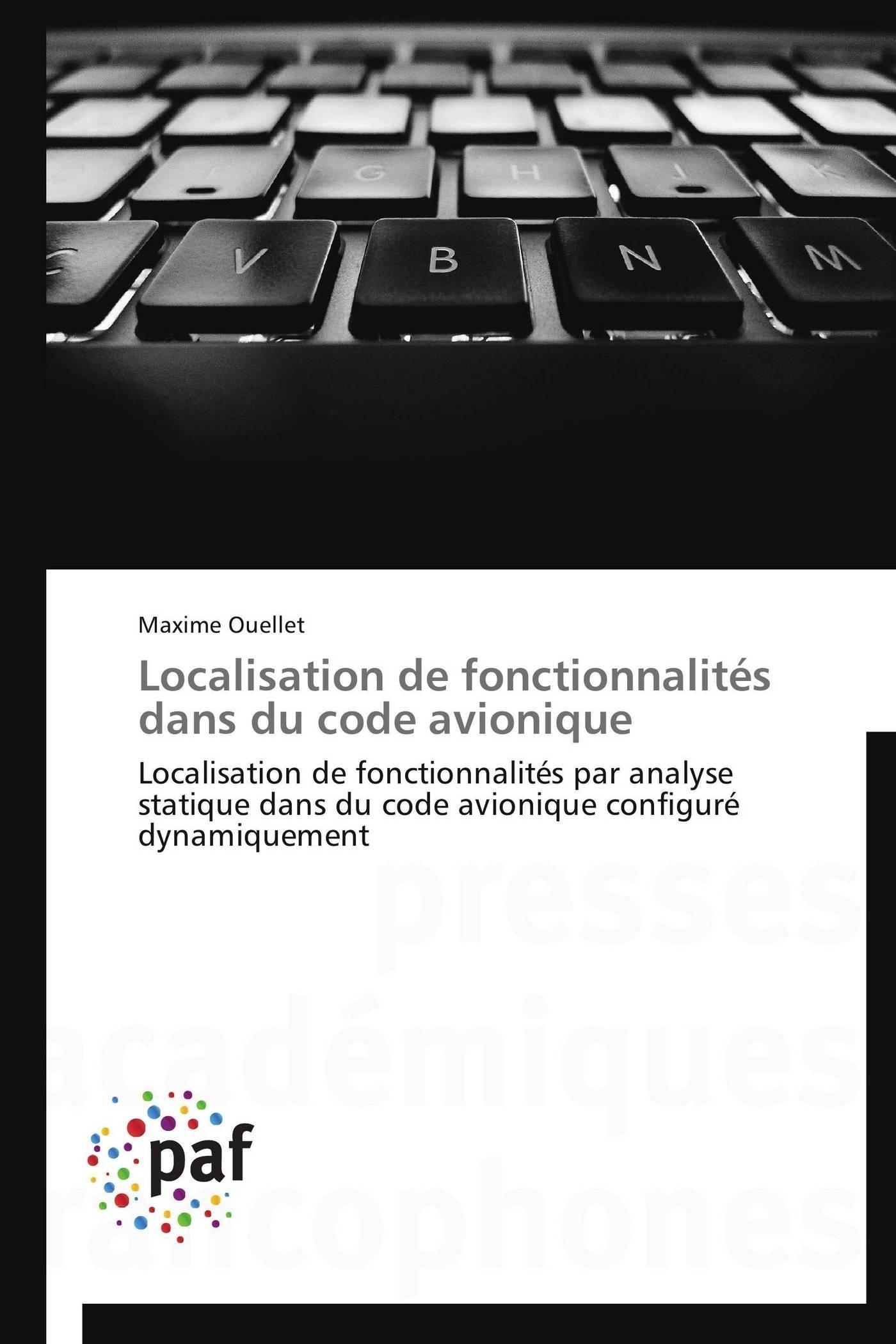 LOCALISATION DE FONCTIONNALITES DANS DU CODE AVIONIQUE