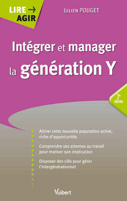 INTEGRER ET MANAGER LA GENERATION Y 2E EDT