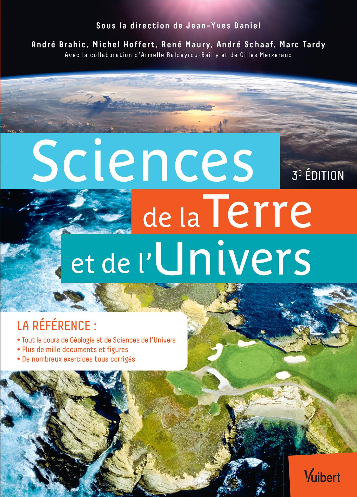 SCIENCES DE LA TERRE ET DE L'UNIVERS 3E EDT