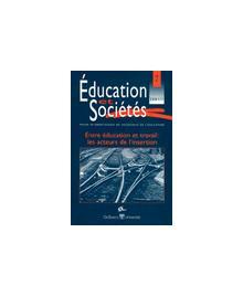 EDUCATION ET SOCIETE 2001/1 N.7